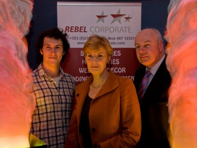 "Our own Ed O'Leary, Marcelle Spellar (Channel 4'd ""Secret Millionaire"") & Bobby Kerr (Dragon's Den). Rebel Corporate is our old name before TeamBuild.ie"