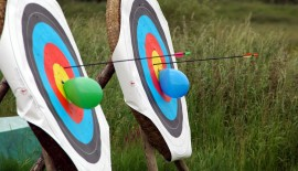 Archery at Maryborough hotel