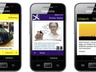 mobile phone app poster